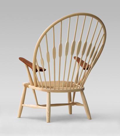 Wegner silla madera