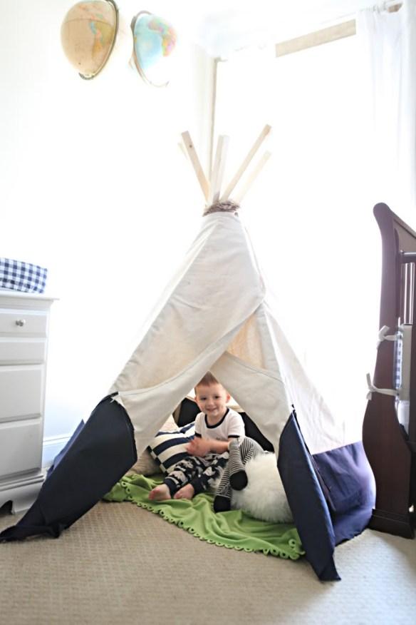Habitaciones infantiles tiendas de campana 10