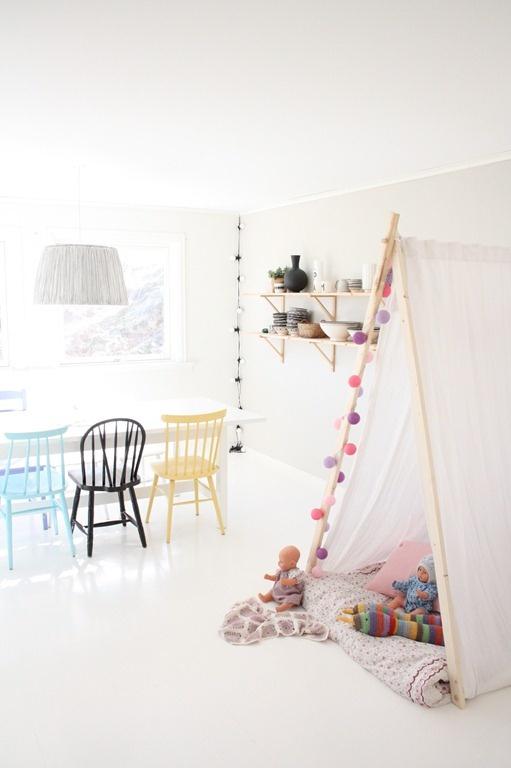Habitaciones infantiles tiendas de campana 19