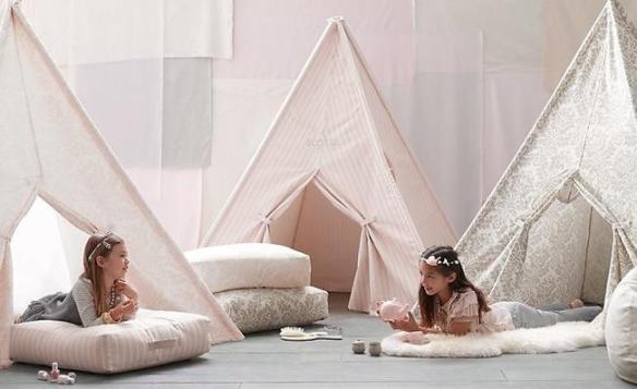 Habitaciones infantiles tiendas de campana 27