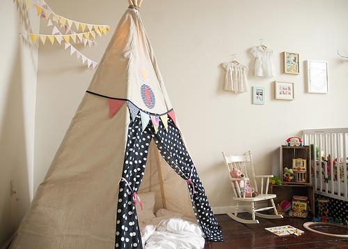 Habitaciones infantiles tiendas de campana 5