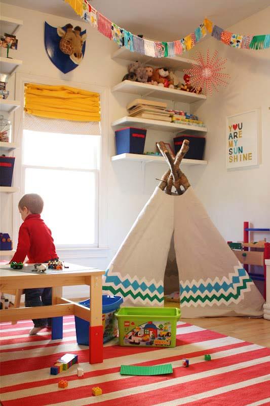 Habitaciones infantiles tiendas de campana 9