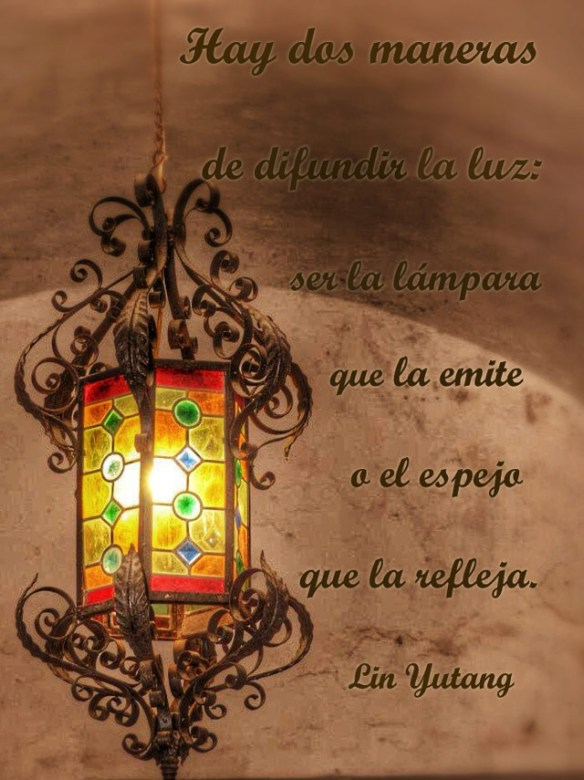 citas conocimiento luz