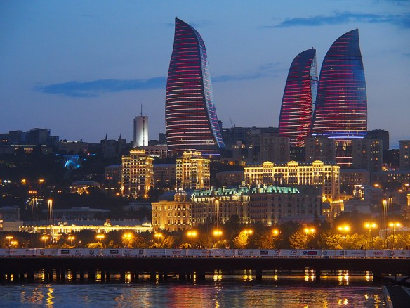 Flame Towers Azerbaiajn