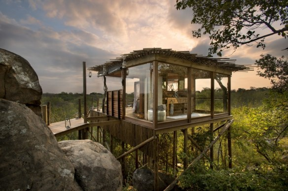 Treehouses de Lion Sands 5