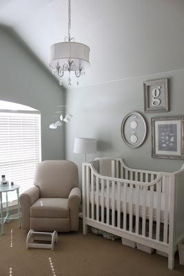 habitacion bebe gris