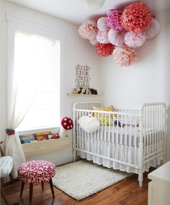 habitacíon bebe pompon