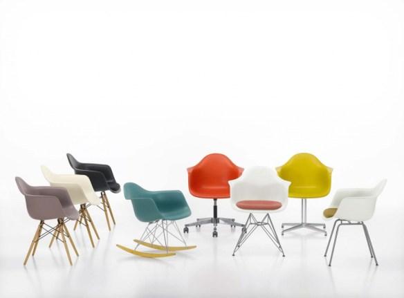 Tipos sillas Eames