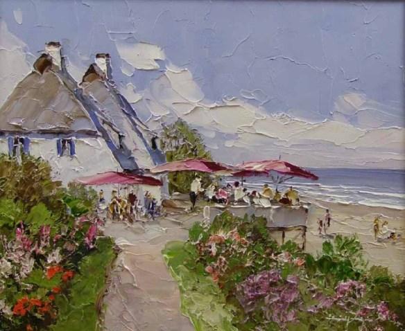 cafe en playa erich p