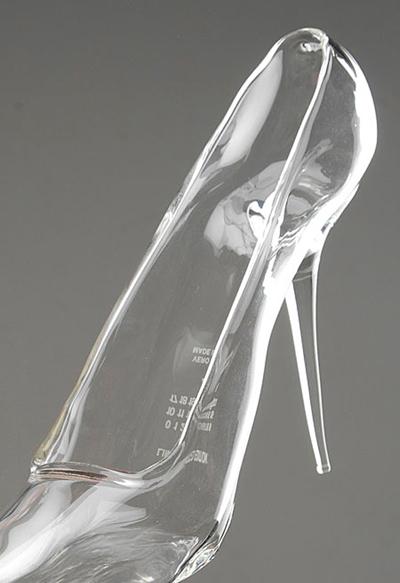calzado cristal