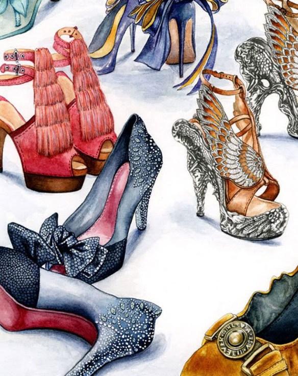 zapatos lujosos