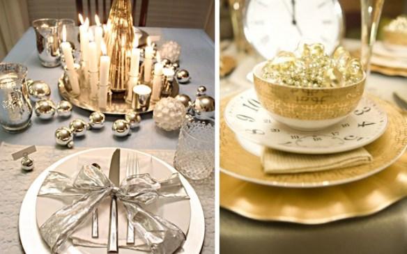 decorar la mesa en Nochevieja 22