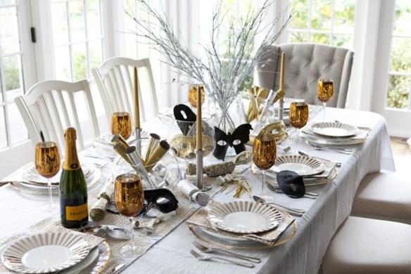 decorar la mesa en Nochevieja 24