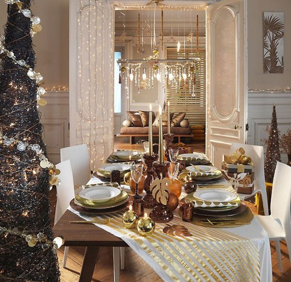 decorar la mesa en Nochevieja 5