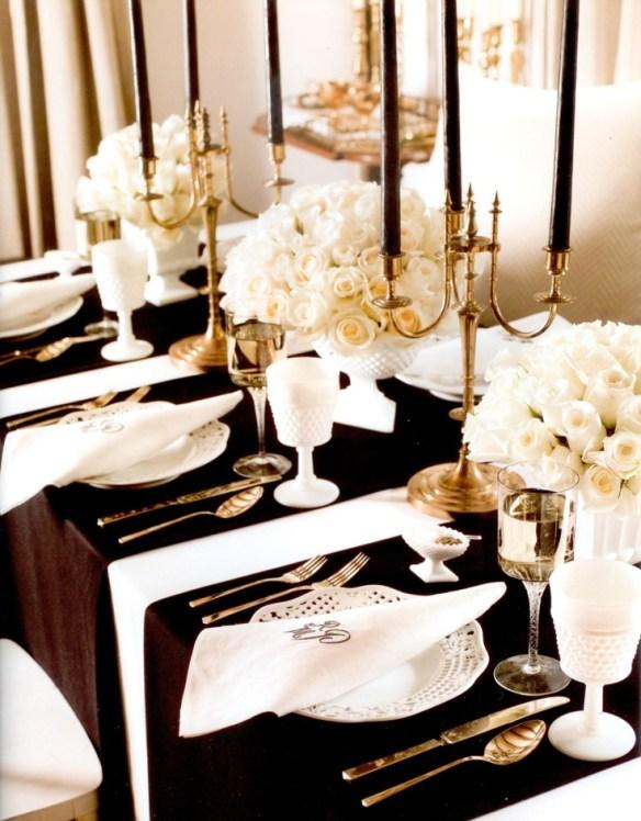 decorar la mesa en Nochevieja 6