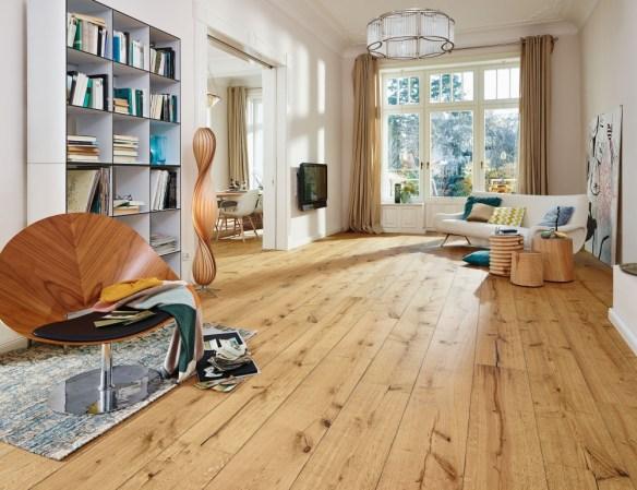 Suelo de madera Lindura HD 300 Roble gris barro rustico
