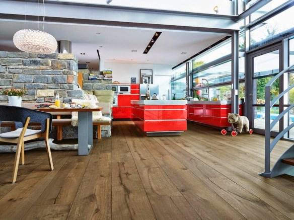 Suelo de madera Lindura HD 300 Roble rustico 8410 meister