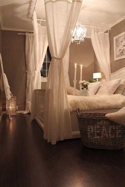 cama romantica