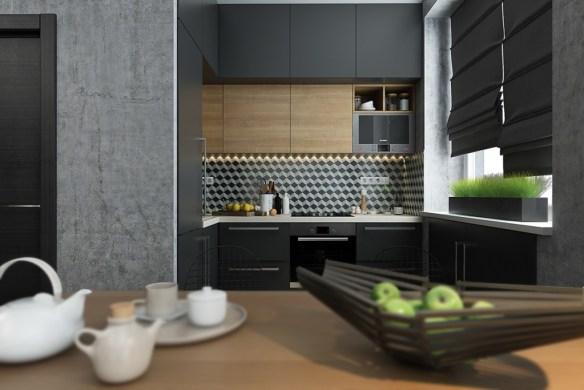 geometric-kitchen-backsplash
