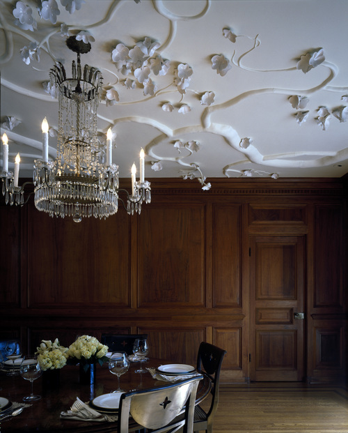 techo de porcelana y yeso