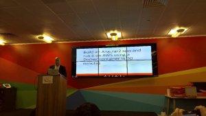 Angular Aws Docker talk