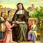 Santa Ângela de Mérici 1470-1540 Fundou a Congregação das irmãs de Santa Úrsula