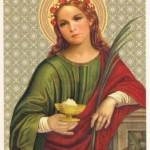 Santa Águeda (Ágata) 230-251