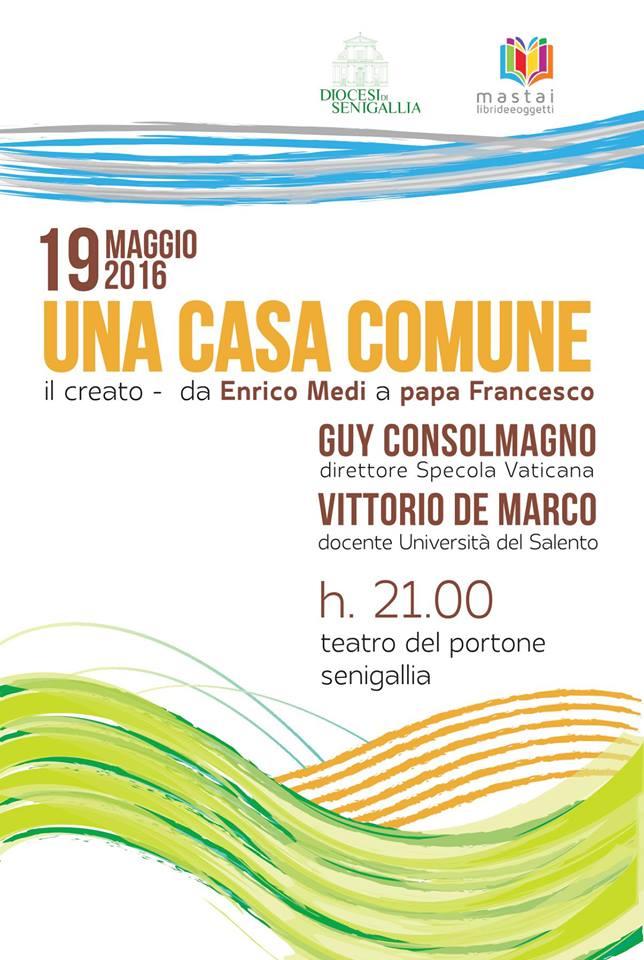 Incontro Laudato Si' e Enrico Medi 19-5-2016