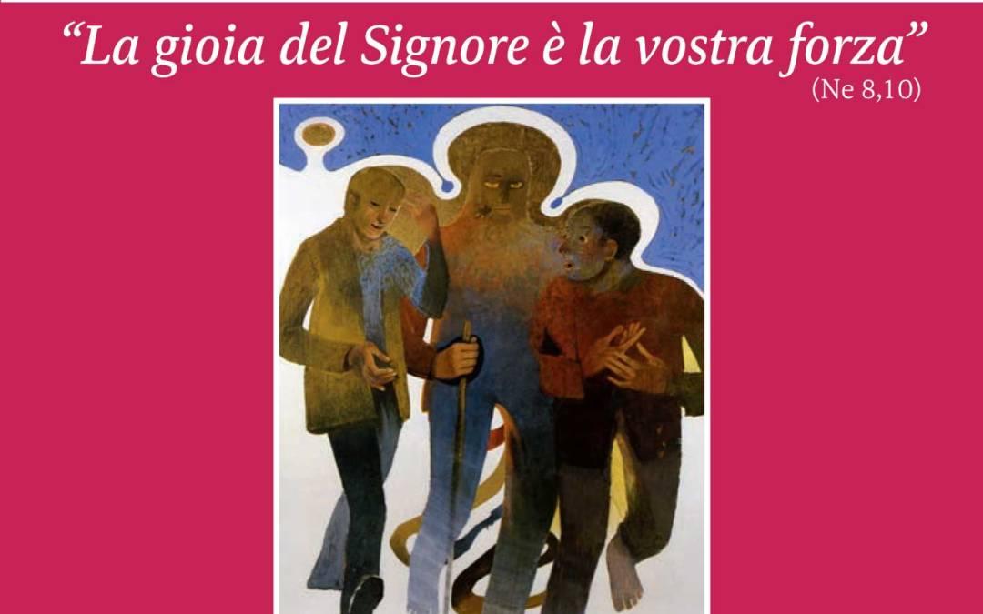"""""""La gioia del Signore è la vostra forza"""" – Lettera del Vescovo Franco Manenti – Cammino sinodale diocesano 2021"""