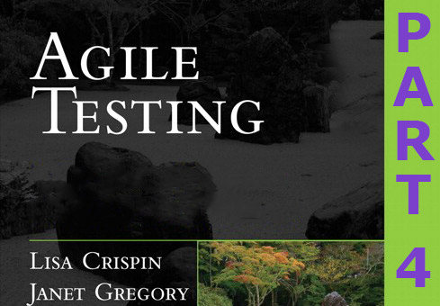 Testing for agile teams: Tests that support the team (#4)