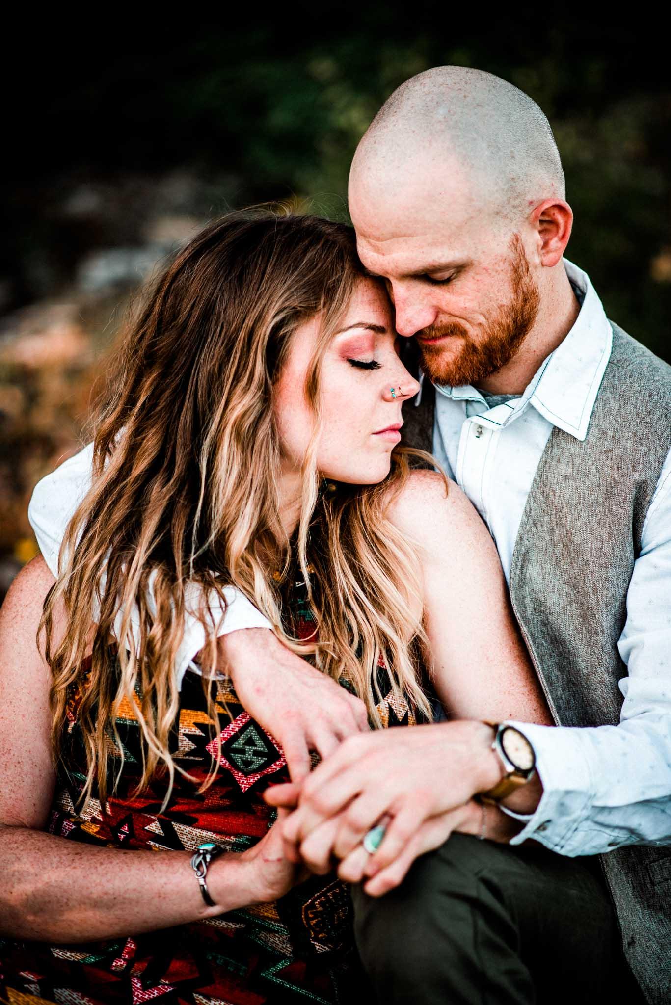 Boho Engagement Inspiration-Dionne Kraus Photography