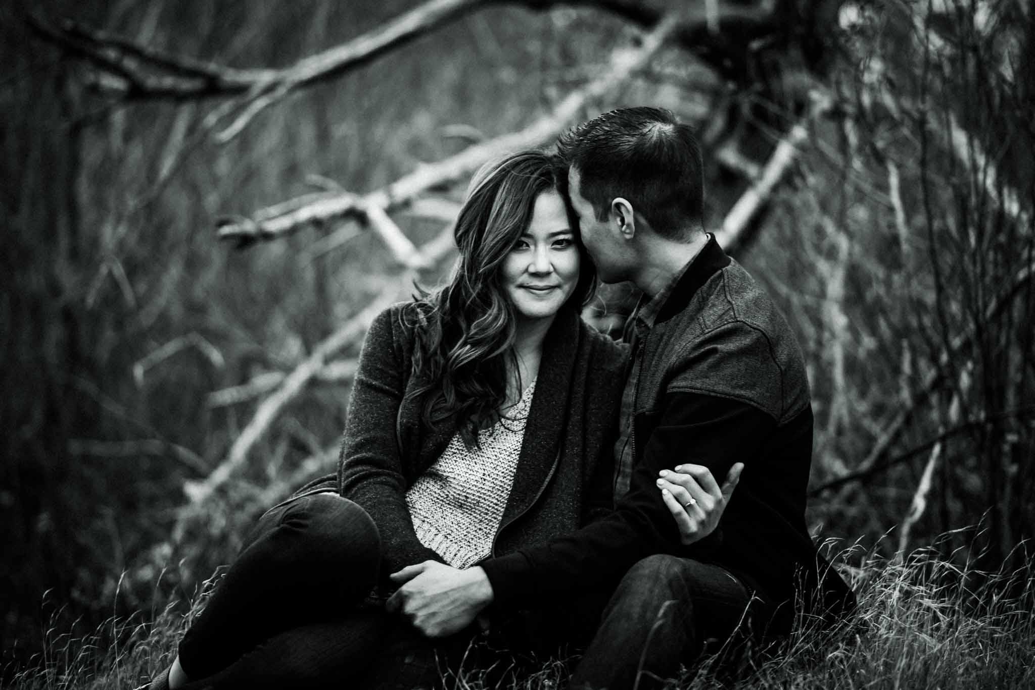 Cascade Locks Engagement-3