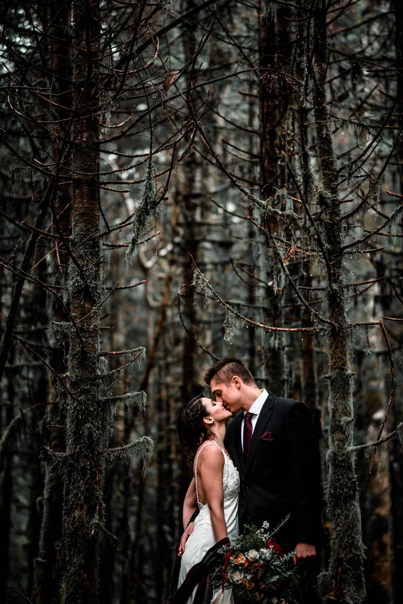 Mt Hood Burke Cabin Wedding-19