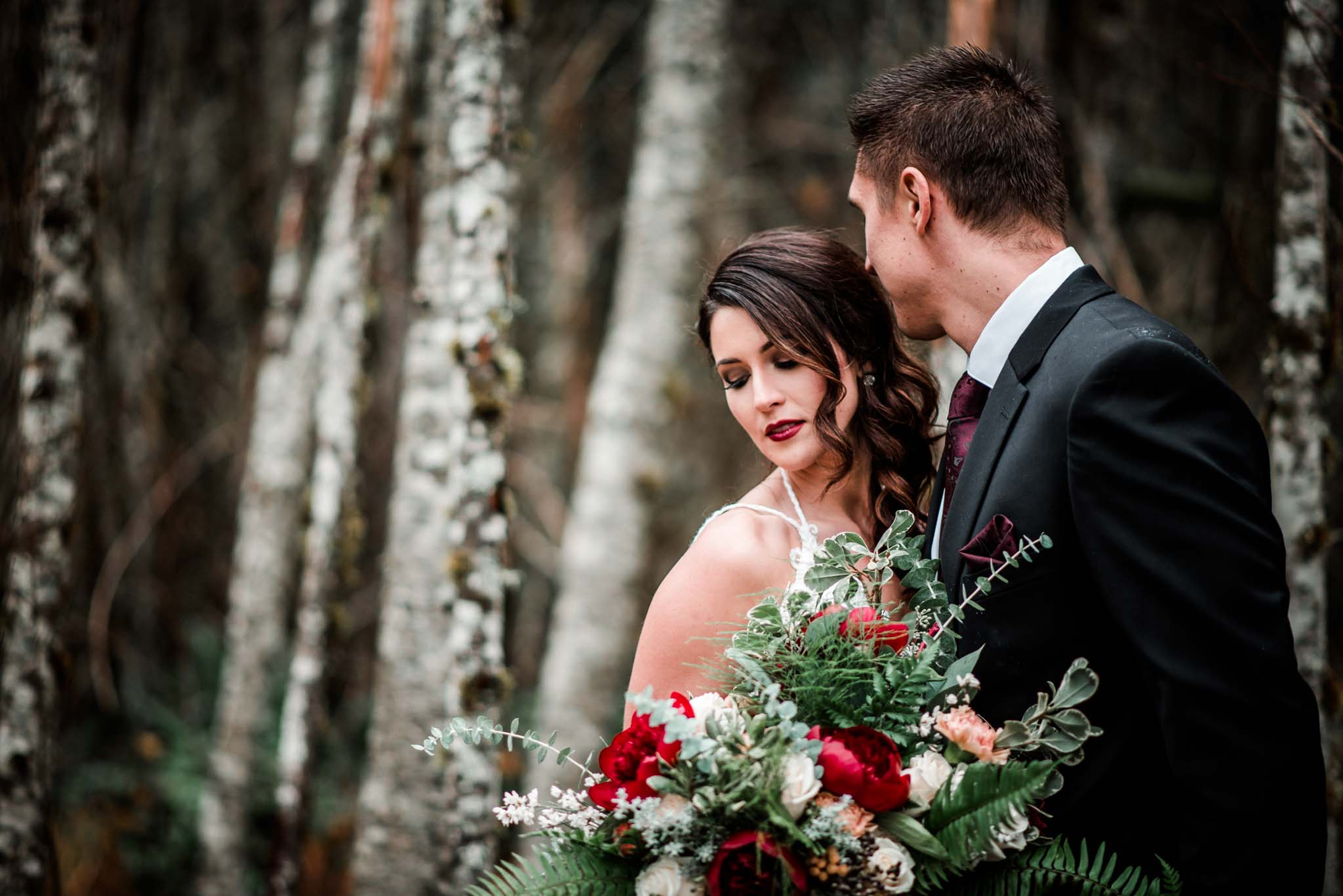 Mt Hood Burke Cabin Wedding-20