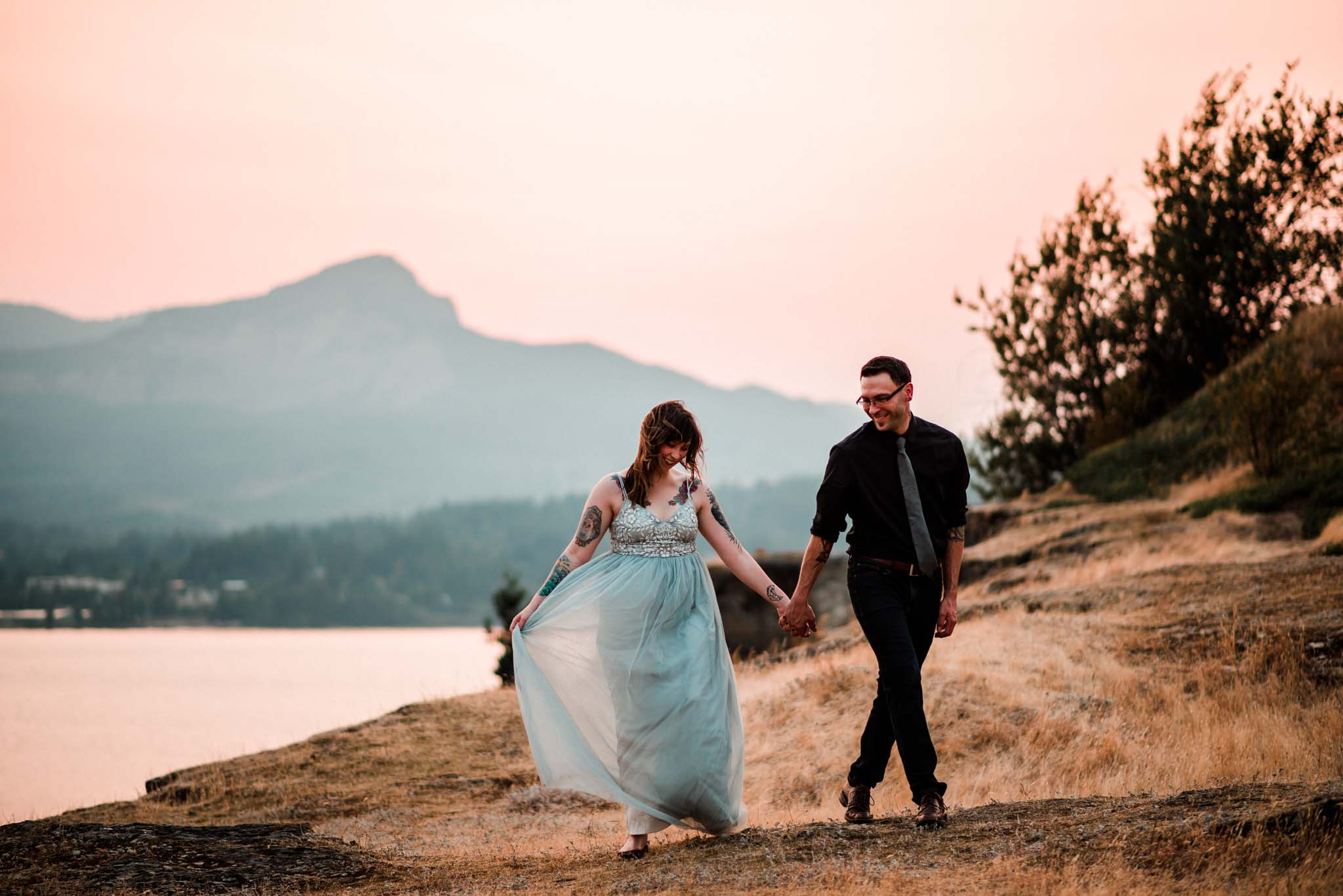 Columbia River Gorge Engagement-2