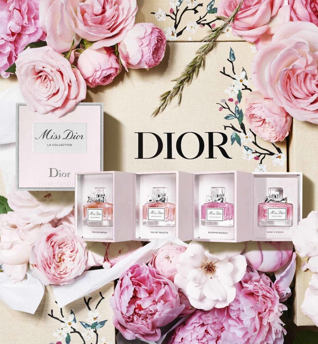 Dior - ミス ディオール ミニチュア コフレ (数量限定品) ミス ディオールの人気の4フレグランスのミニチュア セット