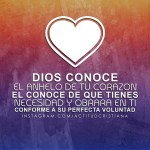 Dios conoce los corazones -2