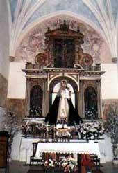 Resultado de imagen de Nuestra Señora  de la paz La Cardenchosa (Badajoz)