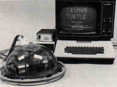 Apple II with turtle Logo