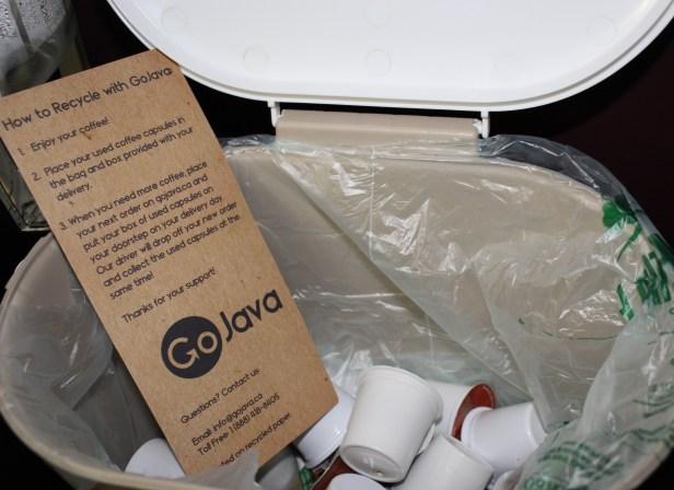 gojava recycling bin
