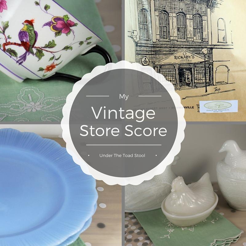 vintage store score