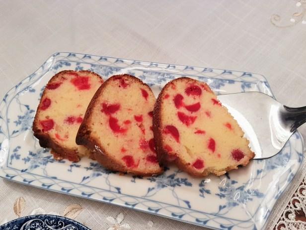 cherry pound cake the perfect tea cake