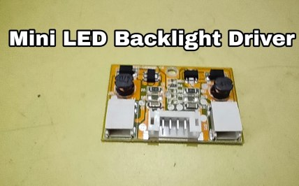 mini backlight driver