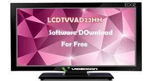 videocon led tv software