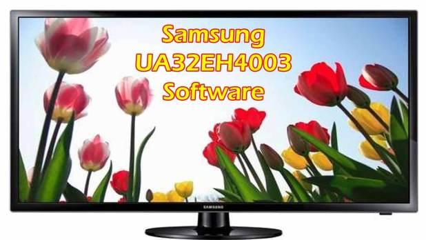 Samsung UA32EH4003 Software
