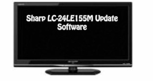 Sharp LC-24LE155M Update Software