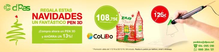 Promoción Navidad Pen 3D