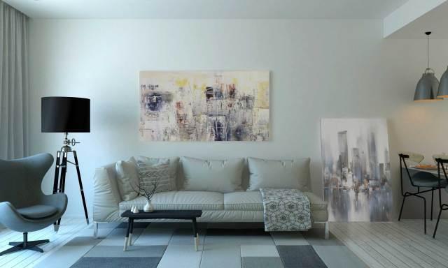 Quadri moderni dipinti su tela