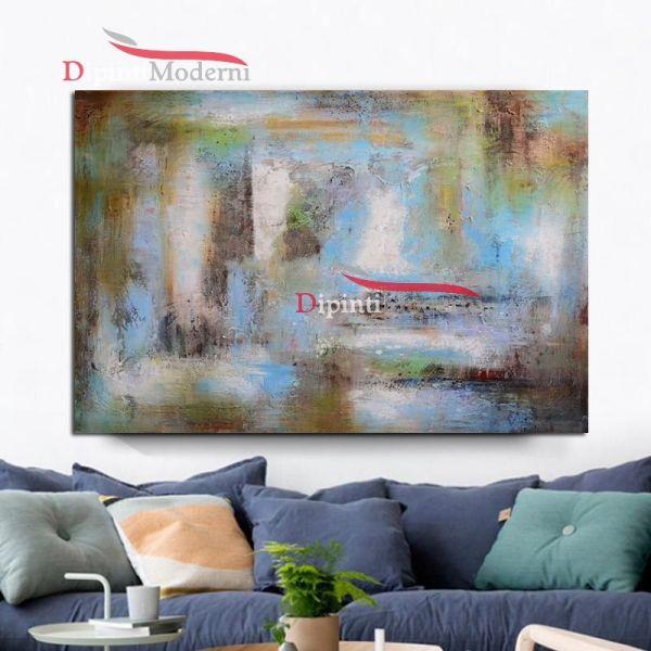 quadri astratti arredamento salotto