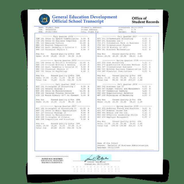 Fake Transcripts - FREE DOWNLOAD